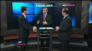 "I've been a regular guest of the ""Face Off"" segment ""At Issue."""